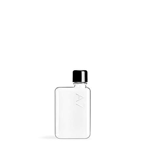 ノート型ボトル memobottle 再利用可能で平たいスリムなウォーターボトル(水筒) ? BPAフリープラスチック製 (A7(180ml))