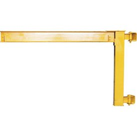 Fantastic Prices! Abell-Howe Under-Braced Wall Mounted Jib Crane 960029 4000 Lb. Capacity