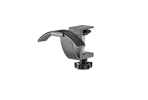 Oehlbach Alu Style T1 - Kopfhörer Tischhalter eloxiertes Aluminium - Schnelle & Einfache Montage - anthrazit