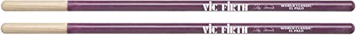 Vic Firth World Classic® Signature Series Timbale Drumsticks - Alex Acuña 'El Palo' - Purple