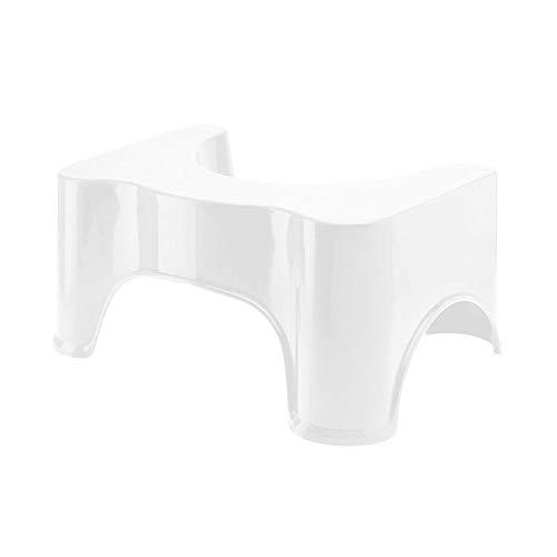 Etanby Toilettenhocker Tritthocker aus Plastik, Komfortable Hocken Hilfe, Rutschsichere Badezimmer Verstärken Hocker Toiletten Hilfe für Erwachsene und Kinder, Gegen Hämorrhoiden und Verstopfung