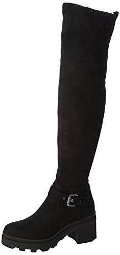 bugatti Damen 431774336400 Hohe Stiefel, Schwarz (Schwarz 1000), 40 EU