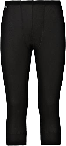 Odlo BL Bottom 3/4 Active Warm Pantalon Homme Black FR : 2XL (Taille Fabricant : XXL)