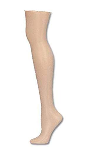 Female Plastic Thigh High Mannequin Leg - Thigh High Heel 26⅝'H - Self Standing