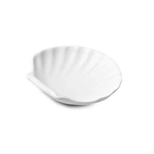 WM Bartleet & ‿Sons 1750 T481 Plat de service traditionnel en porcelaine Blanc 7,5 cm