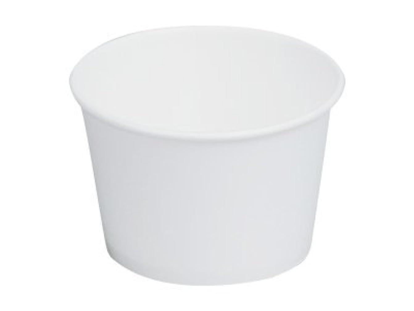 過度にお嬢ミニチュア紙カップ KM95-270 本体 白 使い捨て