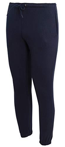 shelikes Mens Trousers Fleece Cuff Hem Bottoms Track Pants Casual Joggers Jogging Trousers...