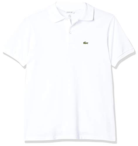Camisa Polo em Petit Piquet Lacoste Unissex Branco 12