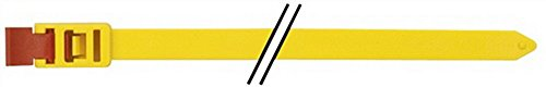 Kabelbinder SpeedyTie B.12xL.750mm gelb HELLERMANN TYTON Bündel-D.210mm, 5 St.