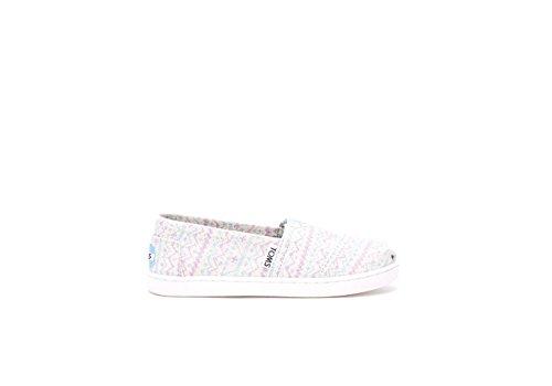 Toms Tiny Sneaker mit Klettverschluss, - Pastel Geo Glimmer - Größe: US 9|UK 8|EU 26