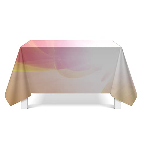 XGguo Oilcloth Wipe Clean Tablecloth Light texture fabric