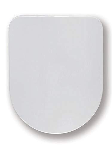 Haro Calla SoftClose Premium WC-Sitz weiss mit Scharnier Klappdübel C4602G für Laufen Pro alt/neu/Rimless (nicht Rimless Compact), Laufen Nexo Vitra S50 / S50 Compact