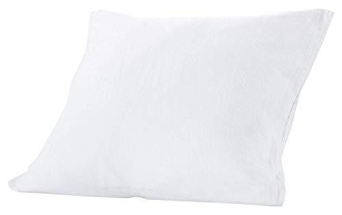 Sweetnight - Protège Oreiller 65x65 cm | Confortable et Absorbant| Molleton Coton | Fermeture à Rabat