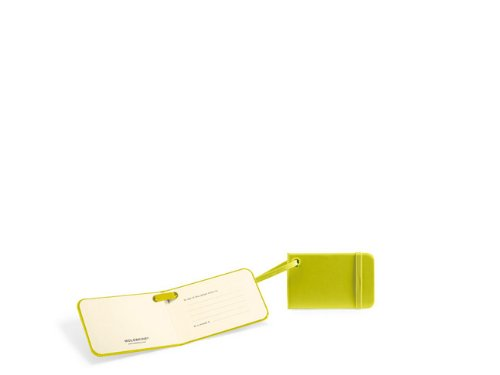Moleskine TLTAC2 - Etiquetas de Equipaje, Color Verde