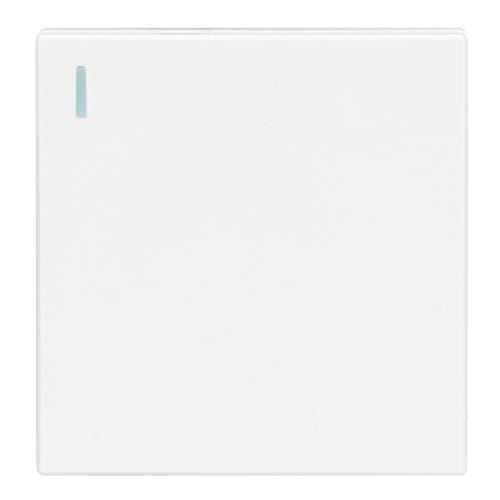 SHYEKYO Kit de Interruptor de Luces inalámbrico Interruptor de luz con Control Remoto inalámbrico 100 m 164-328.1ft Interruptor Remoto Interruptor de Luces Inteligente fácil de(RC002-AC)