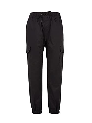 TNGXXWL Pantalones de carga de los hombres Pantalones de combate Slim Fit Casual con cordón Jogger Pantalón Chino Pantalones de chándal