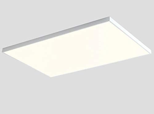 Ultrafino Salón Plafon LED Regulable Grande Rectángulo Luce De Techo Con Control...