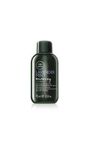 Paul Mitchell Tea Tree Lavender Mint Moisturizing Shampoo - Feuchtigkeits-Shampoo für trockenes, geschädigtes Haar, wohltuende Haar-Wäsche, 75 ml