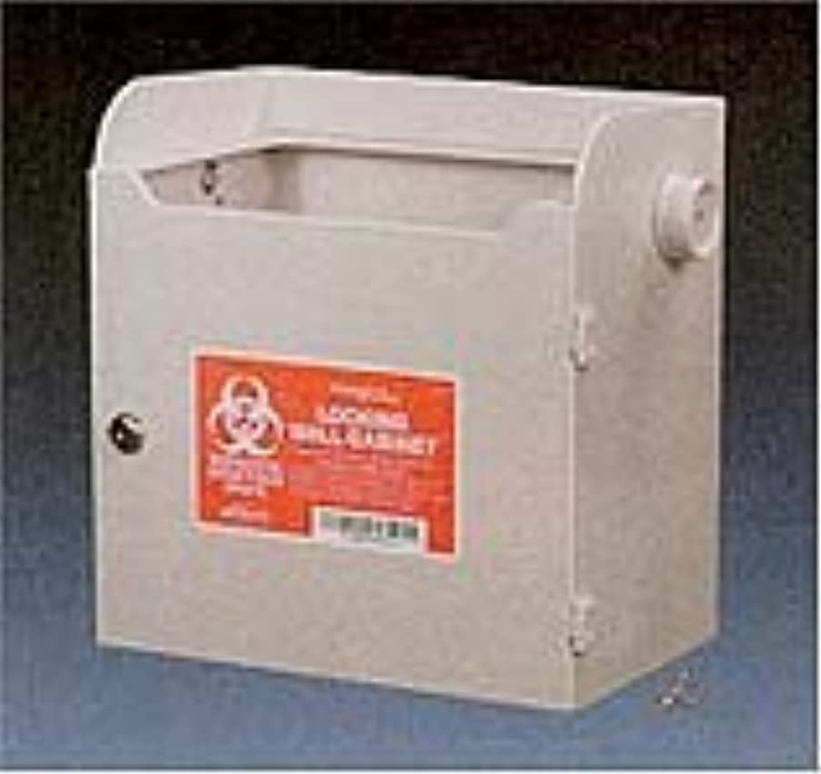 Kendall Monoject Sharps Wall Cabinet - Model 8881676624