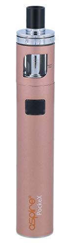 Aspire PockeX E-Zigaretten Set - 1500 mAh Akkukapazität - 2 ml Tankvolumen - Farbe: rosegold