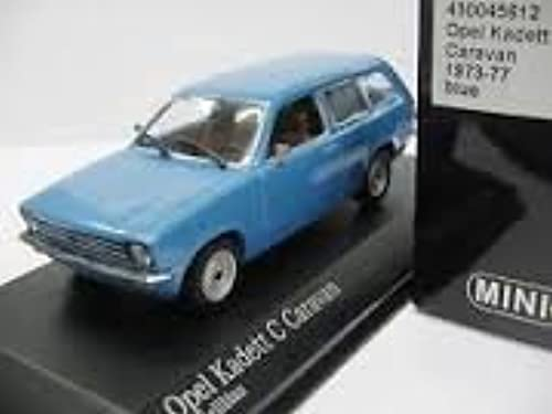 Minichamps 430045612 Opel Kadett  C  Cravan 1973-77 bleu 1 43