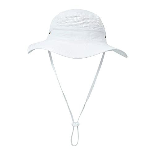 YWLINK Sombreros Para NiñOs Nuevos Sombreros Para El Sol Hombres Y Mujeres Bebé Sombreros De Playa Transpirables Y De Secado RáPido Sombreros De Pescador Sombreros Para El Sol,Sombrero Ajustable