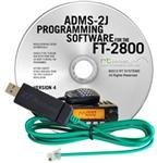 ADMS-2J-USB ~Software & Cable for FT-2800/USB. Buy it now for 49.55