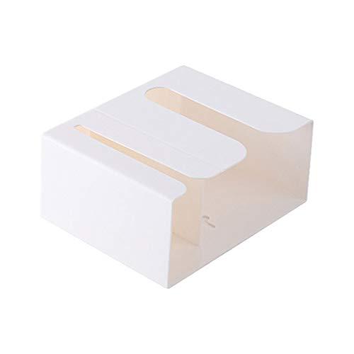 SMEJS Toalla de Papel de Papel de Papel de Papel tapete de Papel de Basura Dispensador Caja de Almacenamiento Organizador de Tejidos (Color : C)