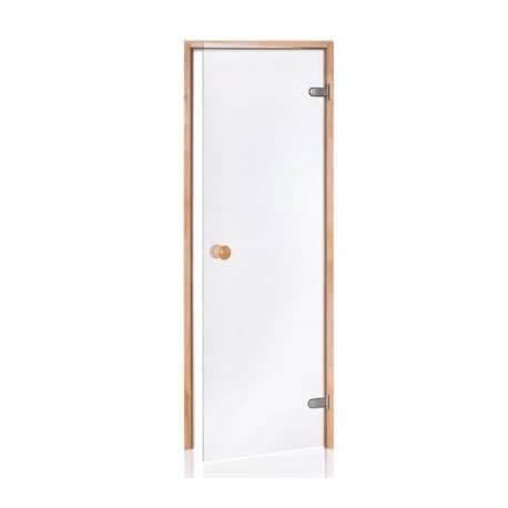 Marco de Pino de 8 mm de Cristal de Seguridad Puerta Sauna