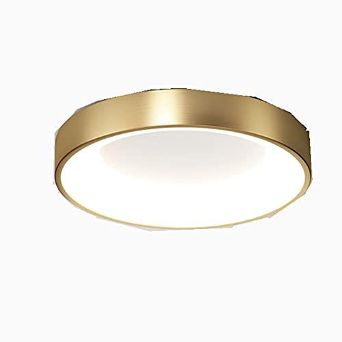 YITIANTIAN Lámpara de Techo Montaje en Descarga de Oro Moderno DIRIGIÓ Luminaria de Techo, Simple Regulable for Dormitorio Dormitorio Dormitorio Foyer Kitchen Sala de Estar de la Lámpara de Techo
