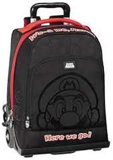 Mochila Trolley Organizado Black Super Mario