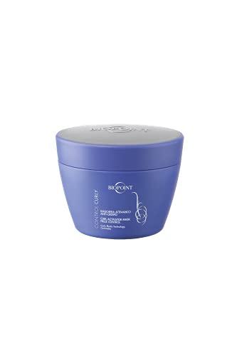 Biopoint Control Curly Maschera Attivaricci, Districa e Nutre in profondità donando Extra Morbidezza e proteggendo i Ricci dall Effetto Crespo - 200 ml