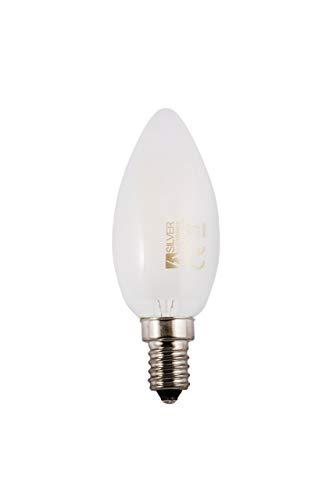 Silver Electronics Filament LED 3000 K E14, 3 W, Blanc, 3 X 3.5 X 9.7 cm