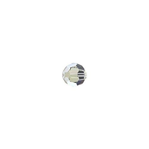 BOLAS FACETADAS 6 MM SWAROVSKI COLORES EXCLUSIVOS - Envase 10 Unidades  Crystal Moonlight