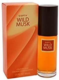 Coty Wild Musk By Coty For Women. Cologne Spray 1.5-Ounces (Pack of 2)