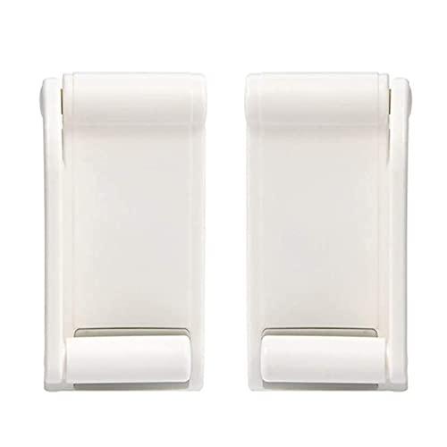 Soporte para papel higiénico Tenedor de papel higiénico soporte de papel higiénico adhesivo Toalla de papel ajustable Tapas de toalla de pared Multifold Dispensador de tejido de montaje para cocina Po