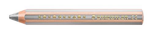 STAEDTLER Noris Junior 140-81 3-in-1 kleurpotlood in zilver, doos van 6