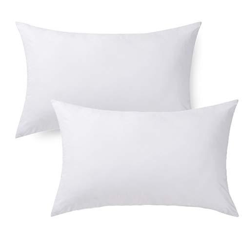 Cloele Bedding - Juego de 2 almohadas de bebé para dormir, funda de algodón de 13.0 x 17.7in, almohada pequeña, lavable perfecta para niños pequeños y bebés