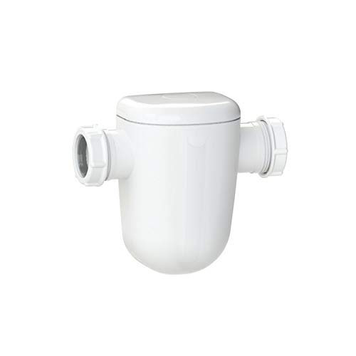 Filtro neutralizador Sanineutral Mini, para aguas condensadas de calderas de condensación hasta 25 kW, 2 entradas de 40 milímetros, 7,5 x 16,8 x 14,5 centímetros (Referencia: SKNM)