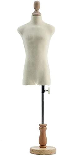テーラーダミードレスフォームマネキン、人形ドレスフォームディスプレイ、調節可能な高さの卓上マネキンズ、ハウスアクセサリーの装飾 (Size : 1)