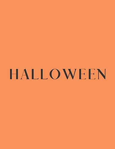 Halloween: A Decorative Book │ Perfect for Stacking on Coffee Tables & Bookshelves │ Customized Interior Design & Home Decor: A Decorative Book ... & Home Decor: 2 (Halloween Book Series)