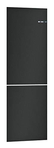 Bosch KSZ2BVZ00 - Accesorio para combinaciones de nevera y congelador VarioStyle / frontal de puerta intercambiable / color: negro mate