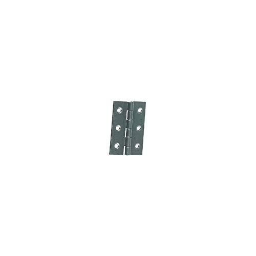 WOVELOT 2 Pcs 2.6 Charniere de la porte darmoire ou de tiroir en acier inoxydable