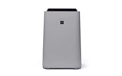 Sharp UA-HD40E-L Purificador de aire con tecnología Plasmacluster-Ion, función humificador, tres niveles de filtro: prefiltro, olores y HEPA, sensor de polvo, humedad y temperatura, hasta 26m