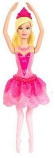Barbie X8831 - Die verzauberten Ballettschuhe Mini Ballerina Kristyn Farraday in pink