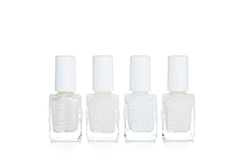Eternal Cosmetics Bride to Be - Nail Polish Set of 4 Colors - Special Bridal Collection, Long Lasting, Mirror Shine, Quick Dry (0.46 Fluid Ounces/13.5 Milliliters Each)