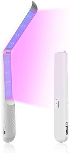 UV-C Light Portable UV Light Wand,Travel Wand Light Without Chemicals for Hotel Household Wardrobe Toilet Car Pet Area.