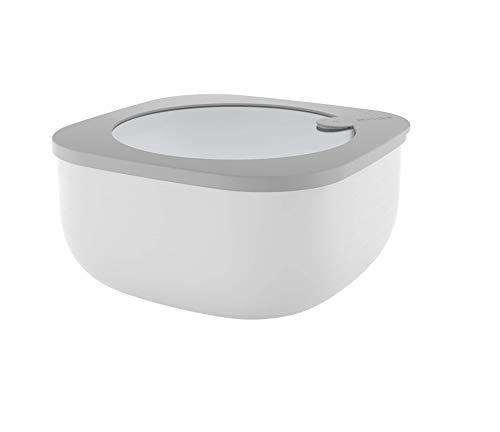 Guzzini 170704177 Kitchen Active Design Airtight Containers, PP|TPR, Grigio (Dark Grey)