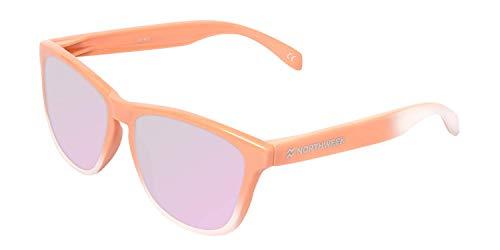 NORTHWEEK Gradiant Gafas de sol, Coral - Rosa, Adulto Unisex Adulto