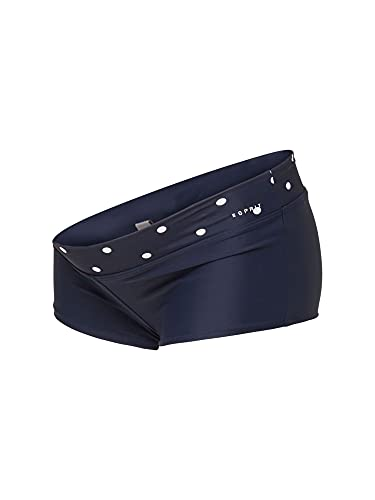 ESPRIT Maternity Damen Shorts AOP Umstandsbadeshorts, Blau (Night Blue 486), 42 (Herstellergröße: XL/XX-Large)